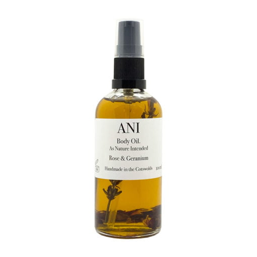ANI Body Oil Rose and Geranium