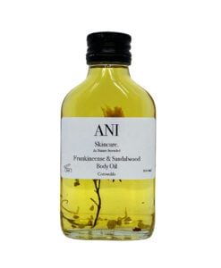 Body Oil - Frankincense and Sandalwood