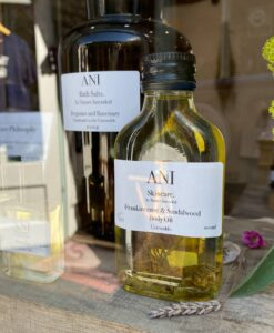 Body Oil Frankincense Sandalwood Shop Window
