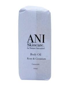 Body Oil Rose Geranium Pack