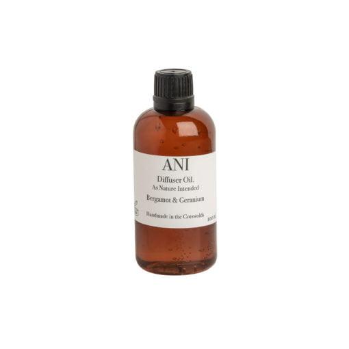 Diffuser Oil Refill: Bergamot and Geranium