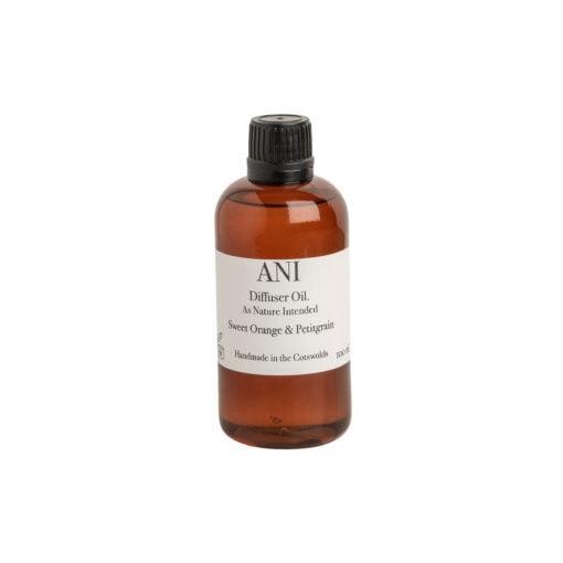 Diffuser Oil Refill: Sweet Orange and Petigrain