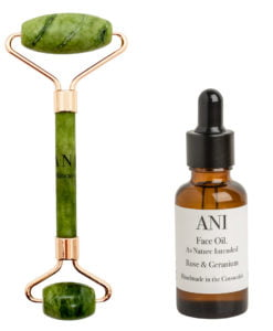 Jade Facial Roller and Oil