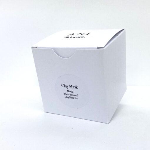 Rose Clay Mask Set Box